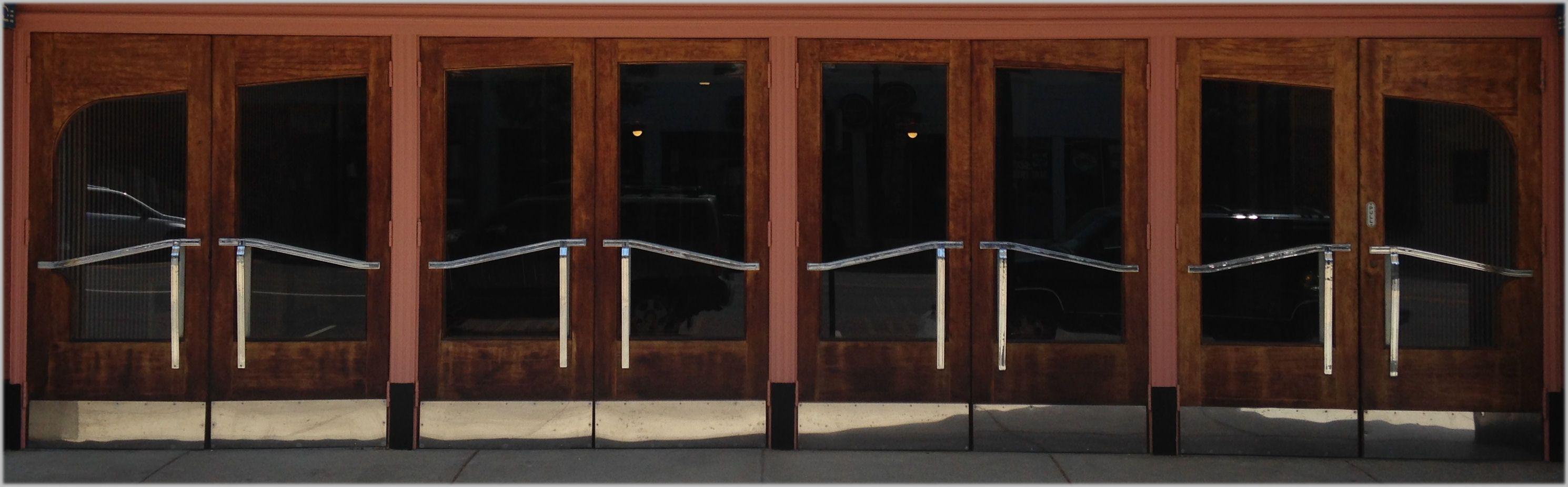 Norwalk Theatre Doors
